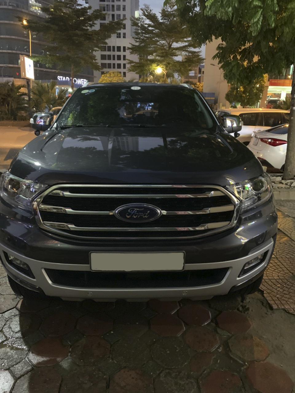 Ford Everest - Titanium 2019